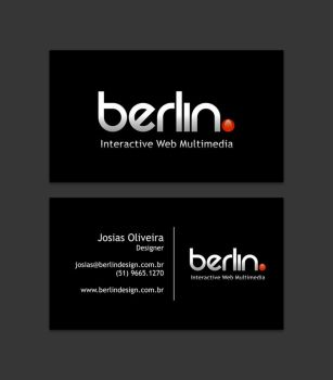 Berlin. Business Card by JosiasOliveira