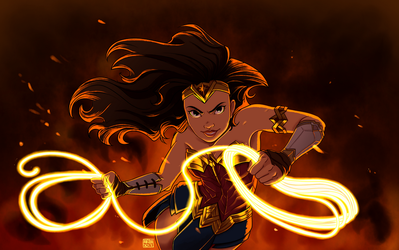 Wonder woman by eliort