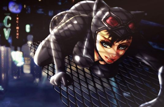 Selina Kyle (update) by Esther-Shen