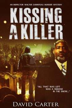 Thriller ebook cover: Kissing A Killer by Dafeenah