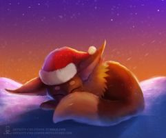 Christmas Evee by ArtKitt-Creations