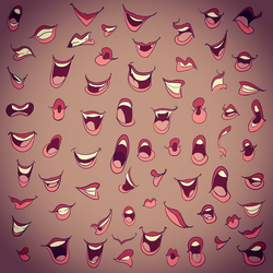 Mouths practice 3 by FlyingCarpets