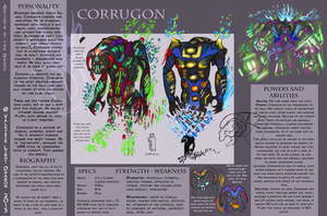 AATR: Corrugon Reference by JarODragon