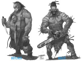 Butcher and Brute by DarioJart