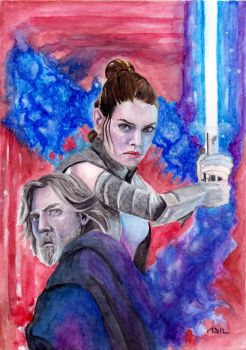 The Last Jedi by PharmArtist