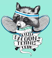 LITTLE RACOONS TENNIS CLUB by rockst3ady