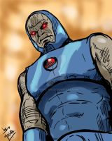 Darkseid - drawn as part of Daily sketch challenge by mrinal-rai