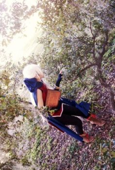Micaiah Hiding from BK by Lycorisa