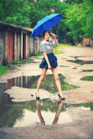 After the rain. by Lukreszja