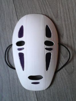 No Face Cosplay Mask by RikRedwolf