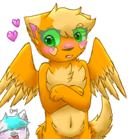 OMG you're so awesome :3 [gift for Kitten Cloudy] by CattyAngel