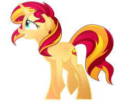 Collab: Sunset Shimmer by Halabaluu