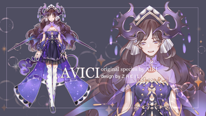 ADOPTABLE AUCTION | AVICI [CLOSE] by zakili17