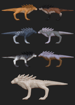 Alternative skins 1 for Project P by XxCH1LL4xX