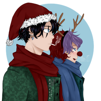 [Merry Xmas] Here we come! [Color Version] by Yuiccia