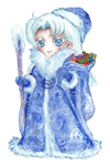 Kunzite Father Frost or Ded Moroz commission
