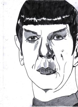 Spock-Star Trek by LOrdalie