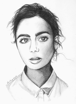 Lily Collins by ceedeng