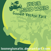 SuperMarioVectorPack by looneylunatic