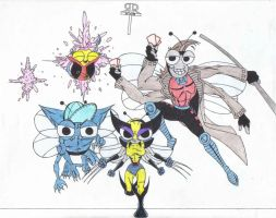 The Buzz on the X-Men by CommittedTalent