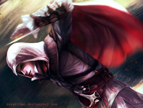 Ezio Auditore by teralilac