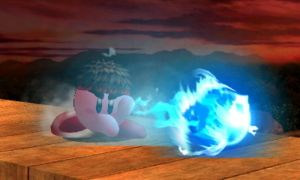Super Smash Bros. 3DS Picture 40 - Kirby Hadoken! by quincyjazimar13