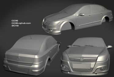 Opel Astra sedan 2009 by GorD6