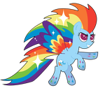 Rainbow Power Rainbow Dash by osakachii