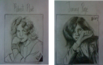Robert Plant Jimmy Page Drawings by pflzrp