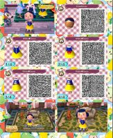 Animal crossing: new leaf QR ( snow white ) by Rasberry-Jam-Heaven