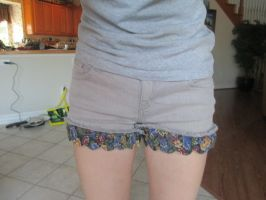 Flower Shorts 1 by lillylolly2015