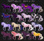 MAY ADOPTABLES $4 FLAT SALE by haechii