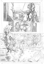 Legacy x-men samples pages 2 by Geniss
