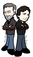 House and Wilson by toonseries