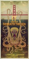 IT CAME FROM BENEATH THE SEA POSTER by jamesgilleard