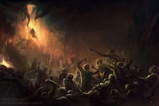 Coming of Azathoth by TentaclesandTeeth