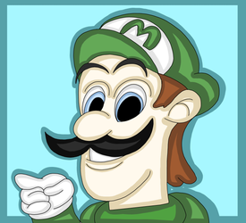 Luigi. (Hotel Mario.) by 21WolfieProductions