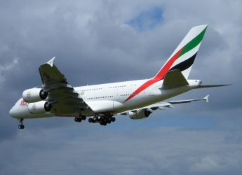 Emirates Airlines A380 by captainflynn