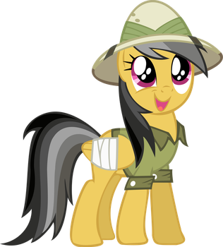 Awestruck Daring Do by Bi0mass