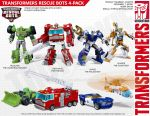 Transformers Generations Style Rescue Bots Mock-Up by thedream86