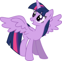 Twilight Sparkle Alicorn Vector by Kamyk962