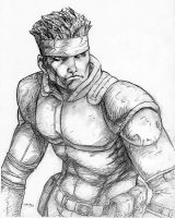 Solid Snake 8-03 by timflanagan