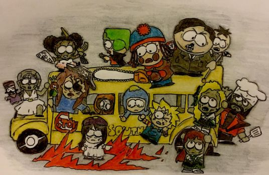 South Park Halloween! by CatDogHeffer
