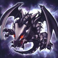 Red-Eyes Baby Dragon [Artwork] by LKGiancarlo