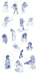 New Hunger Sketches by t3rrorbunny