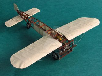 Bleriot XI (paper model) by Rubenandres77