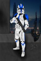 Clone Trooper by JediAnakinSkyguy