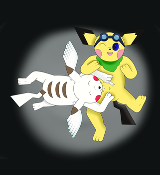 Donnie and Marcus Tickle Belly [Request: PokemonAl by Jovany249