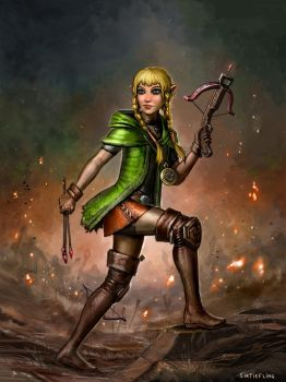 Her Name Is... Linkle? by SirTiefling