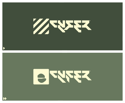Cyfer: Logotype V2 by woweek